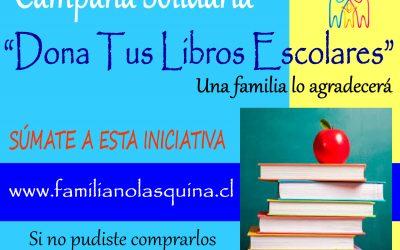 CAMPAÑA SOLIDARIA LIBROS
