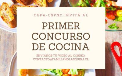PRIMER CONCURSO DE COCINA