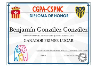 BENJAMIN GONZÁLEZ